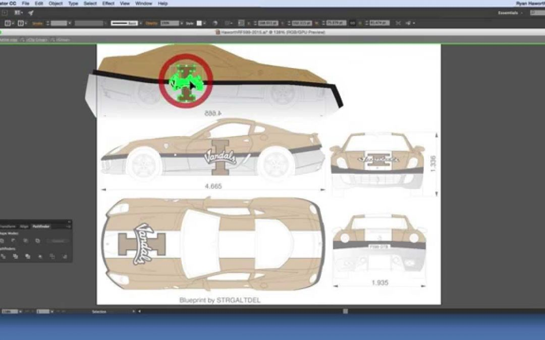 How To Design A Vehicle Wrap in Illustrator