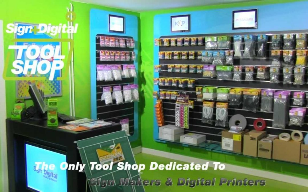 Sign and Digital Tool Shop Launch