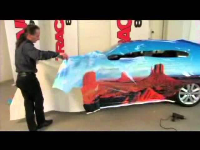 Auto Trim DESIGN Vehicle Wrap Film Application – Installation How-To